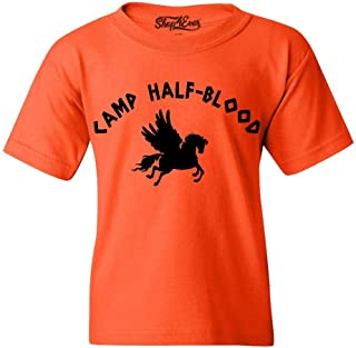 Shop4Ever Camp Half Blood Demigods Youth's T-Shirt Long Island Sound Shirts