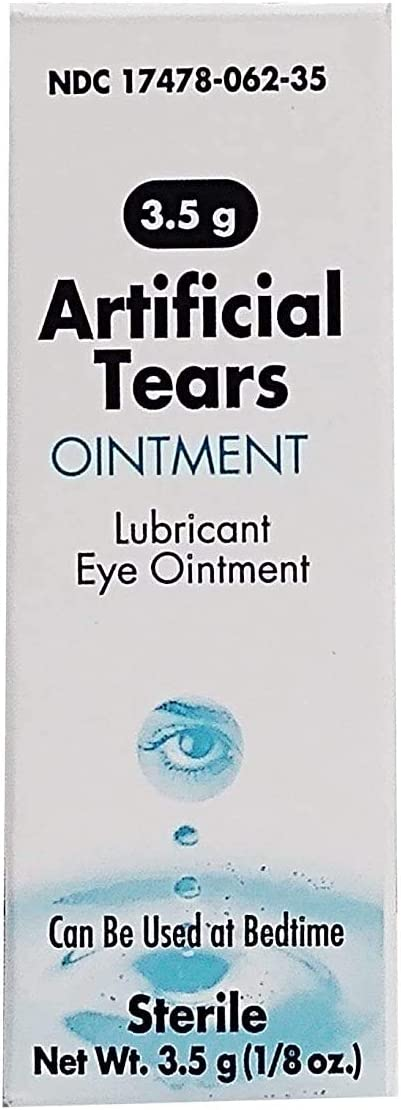 San Antonio NEW before selling Mall Akorn Artificial Tears Lubricant Eye - 3.5g 2 Ointment Pack