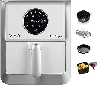 Clase Italia 70800354 Vivo Air Fryer 1400W aceite, 7