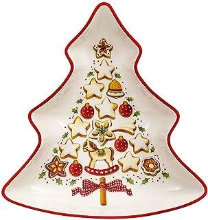 comprar comparacion Villeroy & Boch 14-8612-3870 Bol pequeño en Forma de árbol Winter Bakery Delight, para Navidad, 17 cm, en Festivo Embalaje...