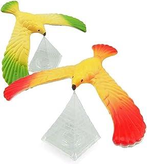 Hpapadks アメージングバランシングイーグル ピラミッドスタンド付き マジックバードデスク キッズトイ 楽しい学習