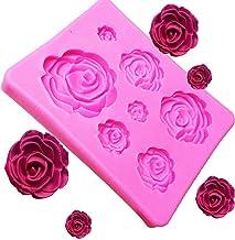 Rose Flower Silicone Mould Chocolate Sugarcraft Fondant Mold Cake Decoration