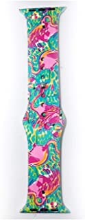 MB2WATCHSLIDER Lilly Pulitzer Inspired Apple Watch Band (Peel and Eat 42/44mm)