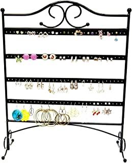 metal earring rack