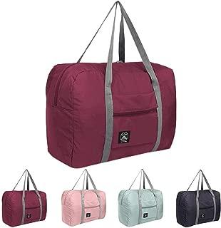 SSYongxia Foldable Travel Duffel Bag Luggage Sports Gym Water Resistant Nylon