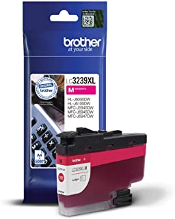 Brother LC-3239XLM Inkjet Cartridge, Magenta, Single Pack, Ultra High Yield, Includes 1 x Inkjet Cartridge, Brother Genuin...