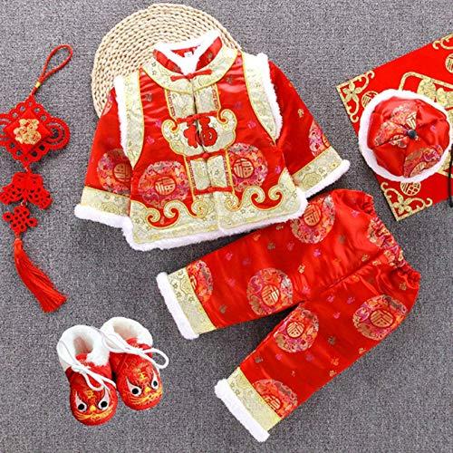 N-B Traje Tang para beb recin Nacido, Traje Tradicional Chino, Fiesta de Ao Nuevo, Ropa Infantil, Bordado de Invierno, Festival de cumpleaos