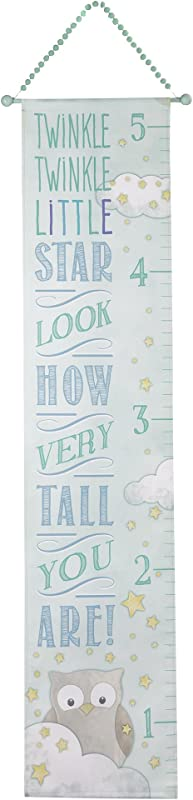 Grasslands Road Twinkle Twinkle Little Star Growth Chart Blue