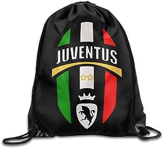 Juventus Drawstringバックパック旅行バッグ