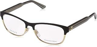 23abbe4d61aa Gucci Women's Optical Frame 4274 0GXN Matte Black/Gold Size 53-16-145