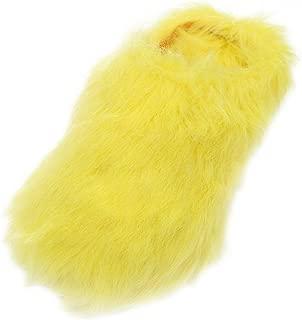 Women's Warm Cute Long Fleece Plush Indoor House SPA Slippers Clogs