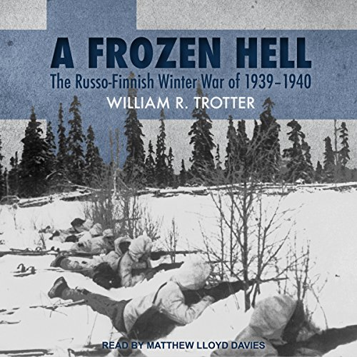 A Frozen Hell audiobook cover art