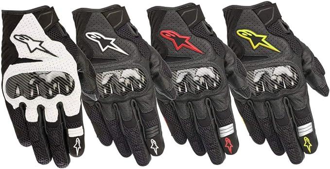 Alpinestars Motorradhandschuhe Smx 1 Air V2 Gloves Black White Schwarz Weiss L Auto