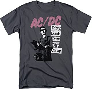 Dirty Deeds Done Dirt Adult T-Shirt