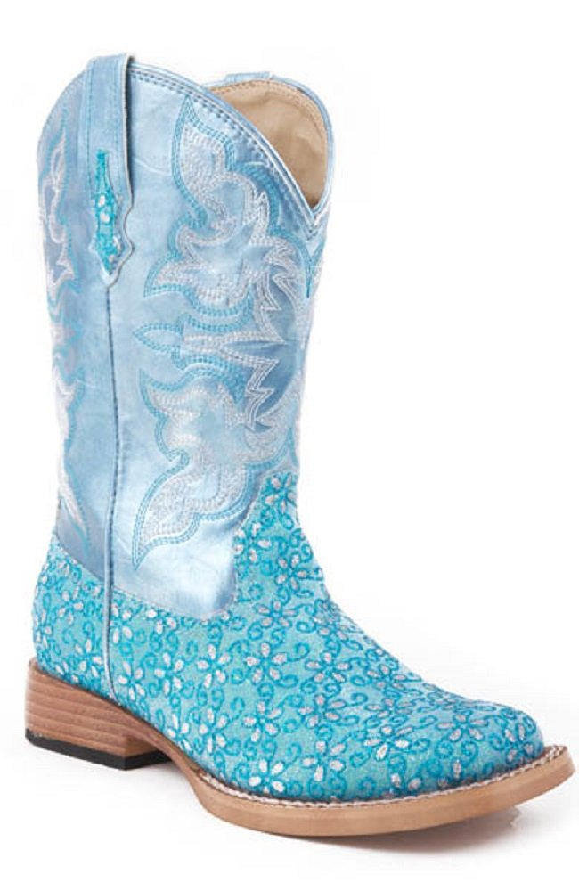 girls size 1 cowgirl boots