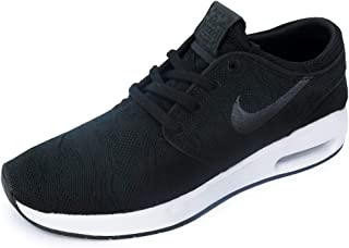 Nike Men's SB Air Max Janoski 2 Skateboarding Shoes (8.5 D(M) US, Black/Anthracite-White)