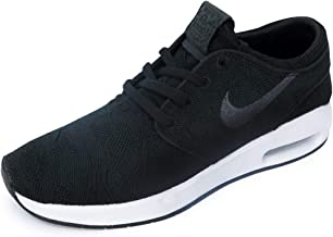 Nike Men's SB Air Max Janoski 2 Skateboarding Shoes (8.5 D(M) US, Black/Anthracite-White)