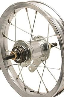 Sta Tru Steel Single Speed Coaster Brake Hub Rear Wheel (12X1.75-Inch)