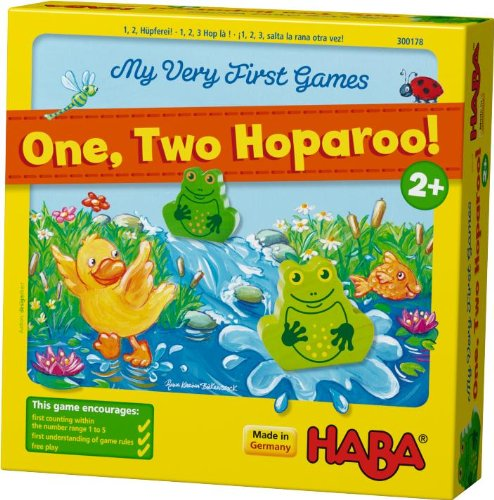 HABA My Very First Games - One Two Hoparoo! Counting Game (Made in Germany)