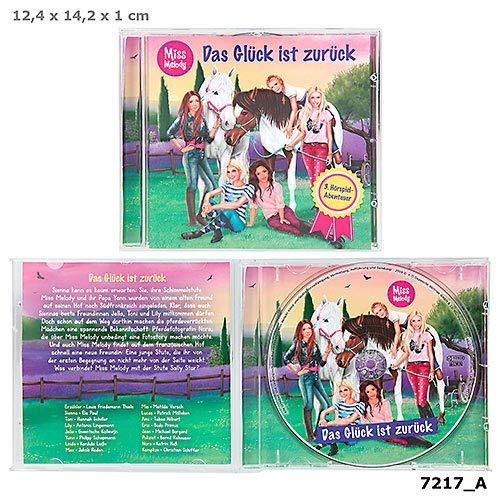 Miss Melody Hörspiel Das Glück ist zurück, CD Musik *NEU*OVP*