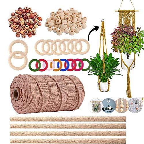Macrame Plant Hanger Kits Macrame Kits for Beginners Crafts Kits for Adults Art...