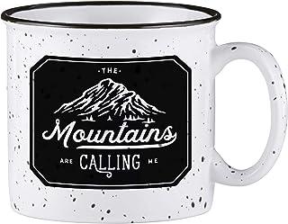 Santa Barbara Design Studio SIPS Drinkware Ceramic Campfire Mug, 13-Ounce, Calling