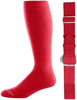 Baseball/Softball Belt & Sock Combo (Youth & Adult Sizes in 19 Color Sets)