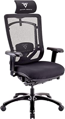 Raynor Gaming Energy Competition Plus Series Chair, Black