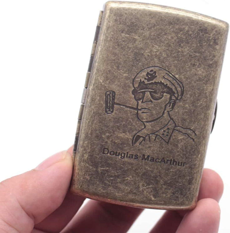 Metal Cigarette shipfree Case Retro Ultra-Thin Superlatite Compact
