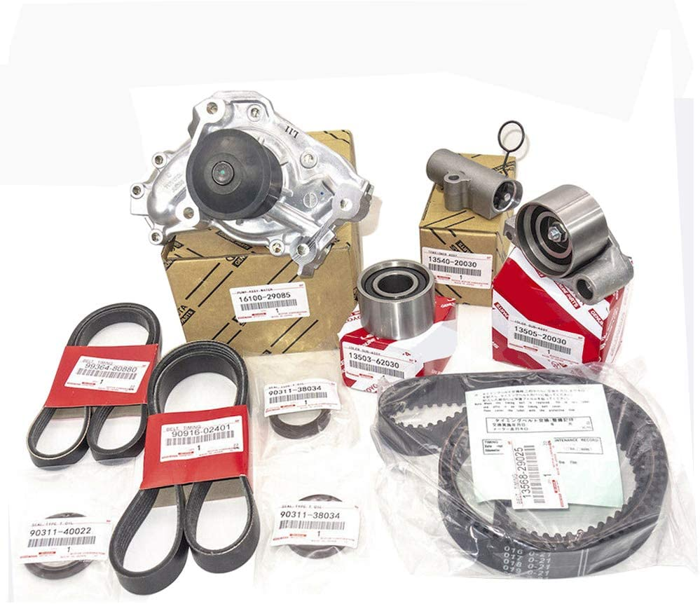 Timing Belt Water Pump Baltimore Mall Kit for 2001-2006 V6 3MZFE Toyota Cheap SALE Start Ca 3.3L