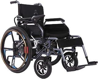 Inicio Accesorios Sillas de ruedas eléctricas para personas mayores discapacitadas Motor dual inteligente Potente silla de ruedas plegable Batería de litio de alta capacidad Cojín desmontable Adecu