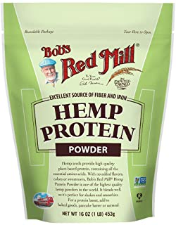 Bob's Red Mill Hemp Protein Powder 16 Ounces 2 Pack