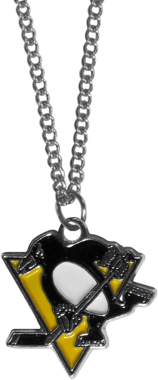 NHL Siskiyou Sports Fan Shop Chicago Blackhawks Chain Necklace 22 inch Team Color