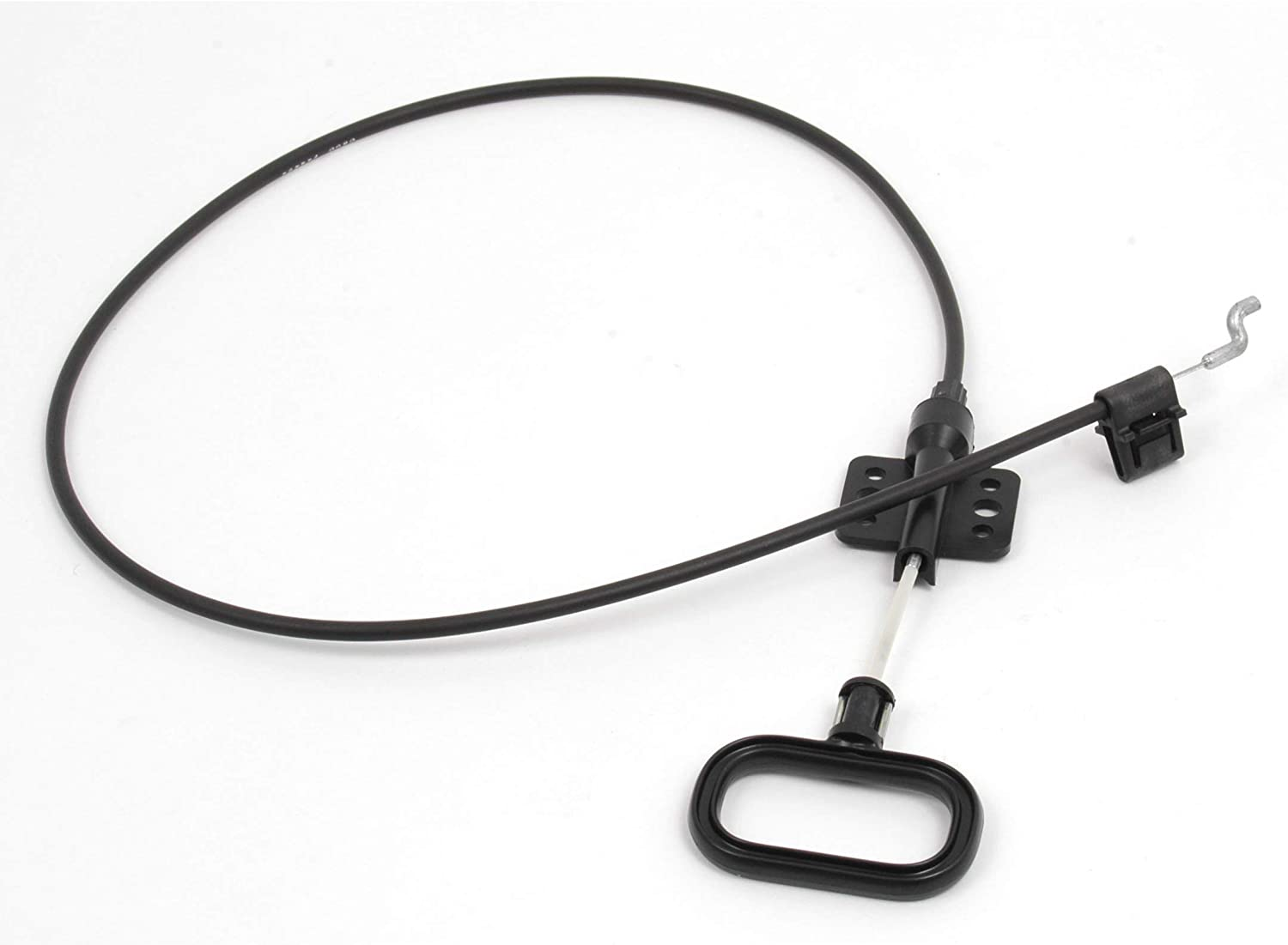 Recliner Parts  38 1 4  Black D Ring Pull Cable Assembly