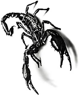 EROSPA® Skorpion 3D Tattoo-Bogen temporär - Aufkleber Stic