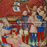 Vertu contra furore Musical Languages in Late Medieval Italy by Memelsdorff