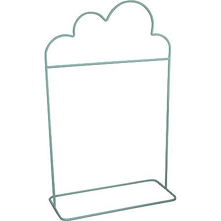 Box and Beyond Portant à vêtements pour Enfant en métal - Forme de Nuage - 1 Barre de penderie - Vert Sauge - 132x81x36cm