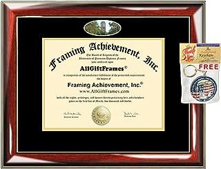 Diploma Frame University of Texas Tyler School Campus Photo Custom Degree Framing Document Graduation Gift JD Juris Doctor Bachelor Master MBA Doctorate PHD Certificate Holder Case