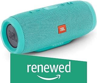 (Renewed) JBL Charge 3 Powerful Portable Speaker with Built-in Powerbank (Teal)