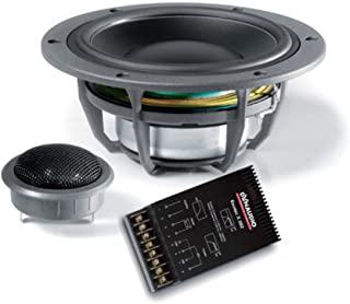 "Dynaudio system 242 7"" &1.1"" two way 120 watts rms &x over"