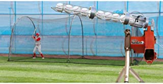 Heater Sports Jr. Baseball Pitching Machine with Automatic Feeder