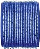 Efalock – Bigodini in velcro, blu scuro, 1er Pack (1 X 6 pezzi)
