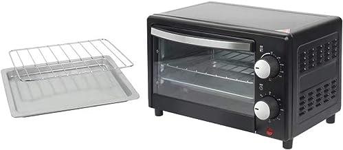 Four grille-pain, Mini ménage Mini portable Contrôle de la minuterie en acier inoxydable Multifonction Electric convection...