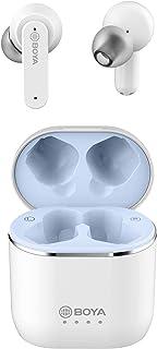 BOYA True Bluetooth Earbuds, Headphones Wireless Earbuds Noise Cancelling Pop-ups Wireless Hi-Fi Stereo Sweatproof Sport H...