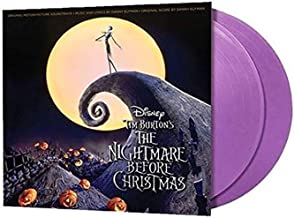 Tim Burton's The Nightmare Before Christmas (Original Motion Picture Soundtrack) - Exclusive Limited Edition Purple Colored 2x LP Vinyl [Condition-VG+NM]