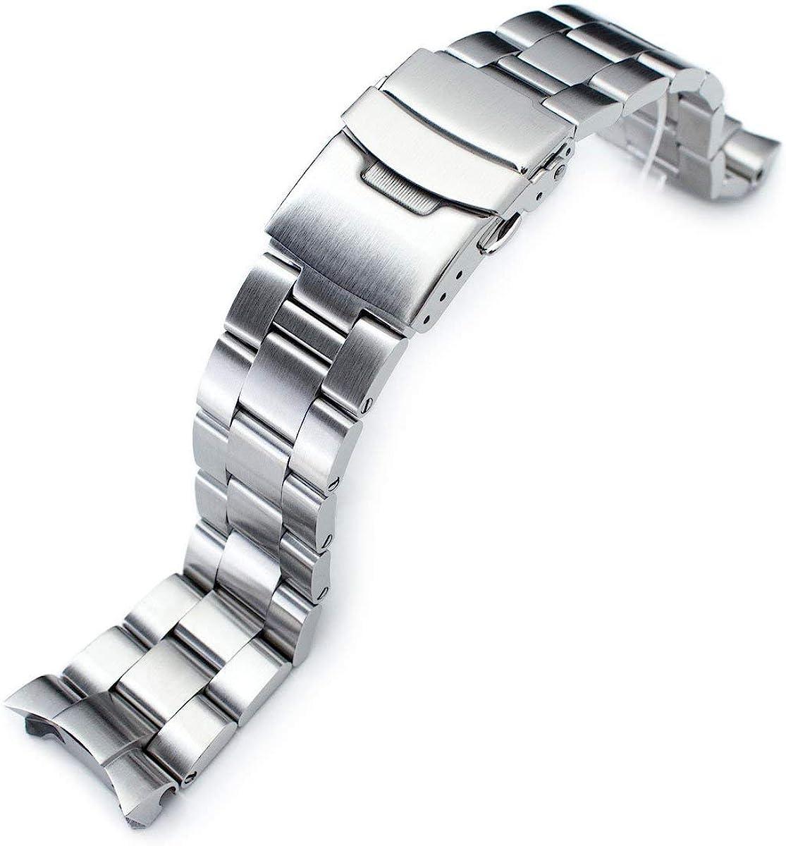 MiLTAT 22mm Watch Band Max 53% OFF for Seiko SKX171 Super-O Max 80% OFF S SKX011 SKX007