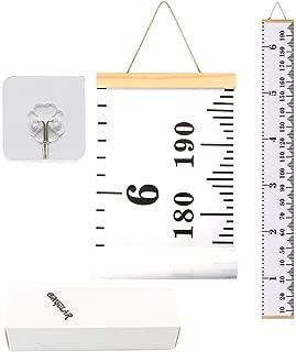 Jannyshop Tabla de Crecimiento para Ni/ños Lona Colgante de Pared Reglas Medici/ón de Altura para la Decoraci/ón de la Habitaci/ón