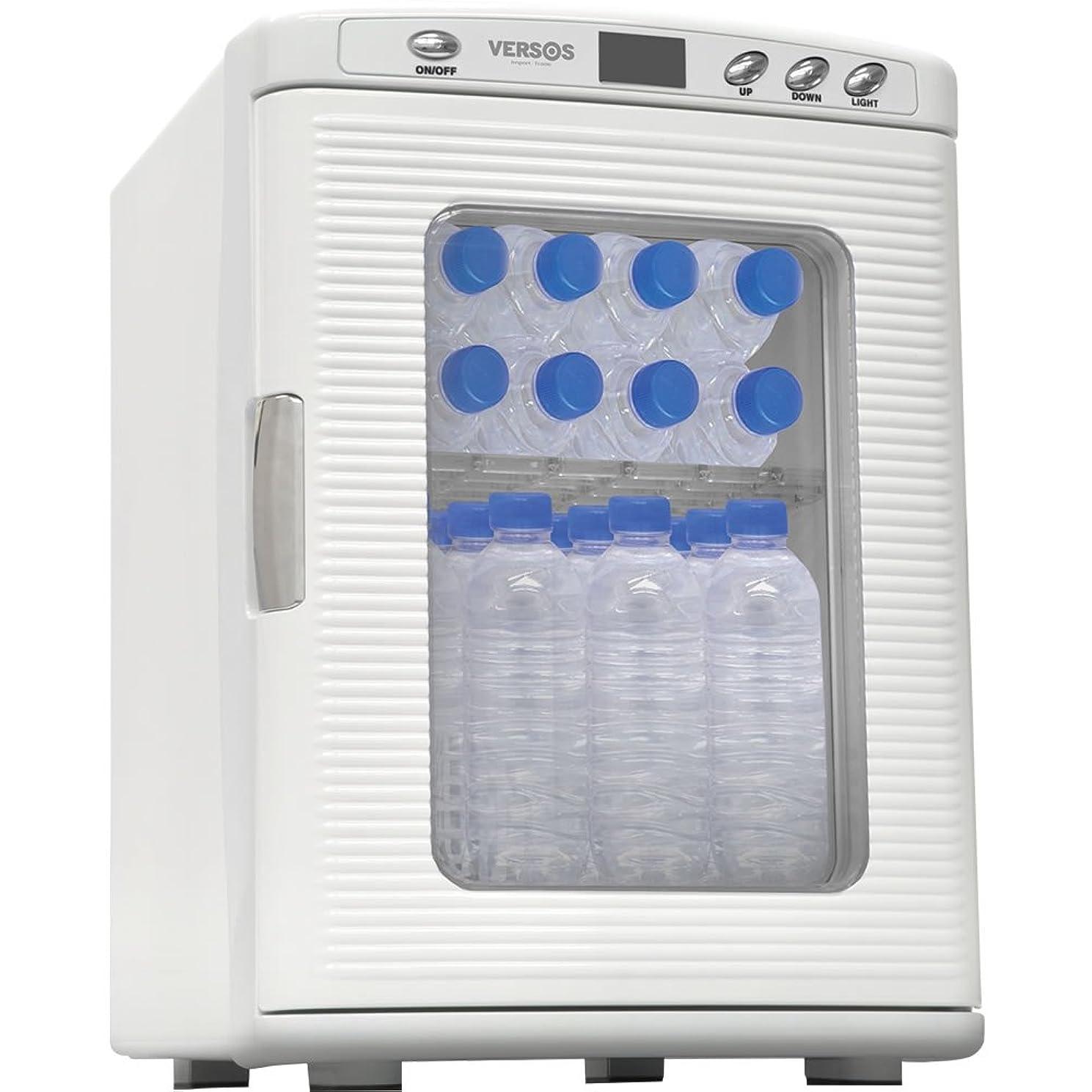 順応性使役憲法VERSOS 25L冷温庫 ホワイト VS-404