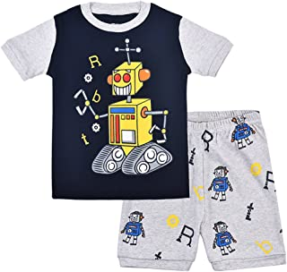 Holiday Theme Nickelodeon Paw Patrol Official Boys Summer Outfit Set Short Sleeve Top T-Shirt and Shorts 100/% Cotton 2-6 Years