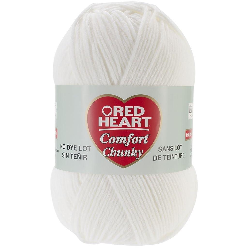 Coats & Clark Inc. RED Heart Comfort Chunky Yarn, White